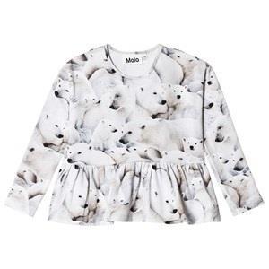 Molo Risa T-Shirt Polar Bear Jersey 110 cm (4-5 år)