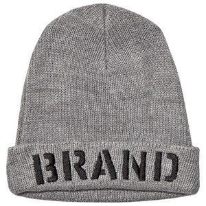 The BRAND Beanie Hat Grey Melange XS/S