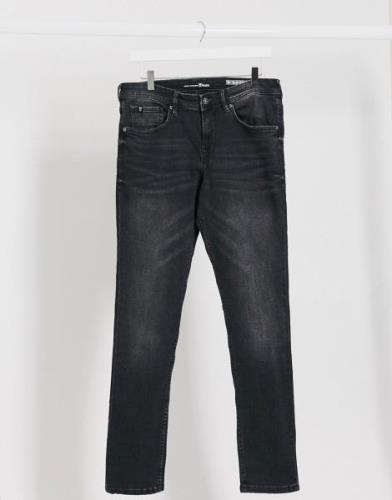 Tom Tailor skinny stretch jeans in black