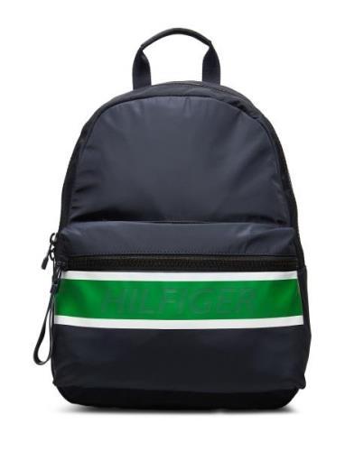 Tommy Backpack Ryggsekk Veske Blå Tommy Hilfiger